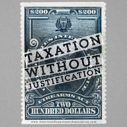 taxation without justification